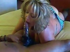 Blonde Wife and Black Stud