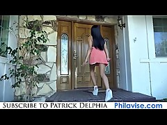 PATRICK DELPHIA-Threesome fuck with my stepmom and gf
