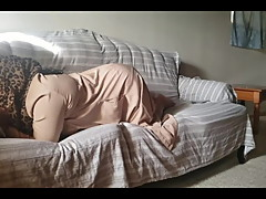 Arab wife in Hijab fucked by white friend