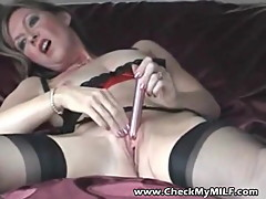 Check my MILF Ebony wife sucking huge black cock
