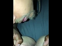 Cheating Wife Gets Pussy Licked And Cums On Bbc