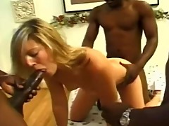 SUBMISSIVE WIFE MARIA BIG BLACK GANGBANG