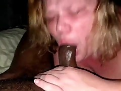 mature bbw wife cheating sucked bbc and fucking