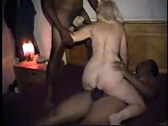 Mature Slut Wife Gangbanged By Blacks - Part 4