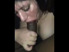 My girlfriend latina drunk sucks my dick