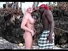 Jamaica Beach - Blond Tourist Have a Nice Fuck Part 1