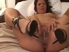 Hot clip taken a few years ago of slut wife being Black owned