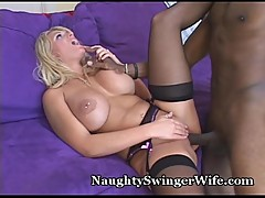 Busty Wife Gets Her Ass Eaten Out