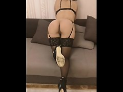 Horny hotwife sex
