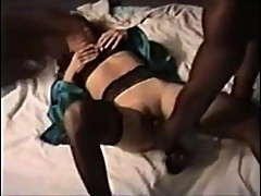 Saggy tit dark areola cuckold wife and her BBC