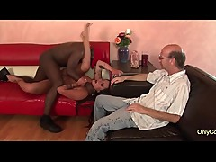 Nikita Denise Gets Pulverized By A Black Cock &amp_ Makes Her Husband Watch - Cuckold