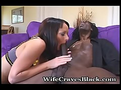 Stacked Wife Fucks Black Cock Good