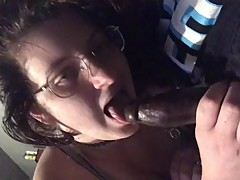 Quick bbc blowjob from my gf