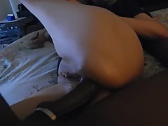 I let Yoko, my asian GF, get Pogos's giant BBC in her asshole