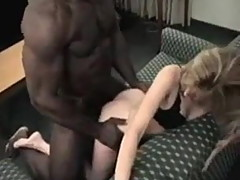 Blond wife bred by BBC