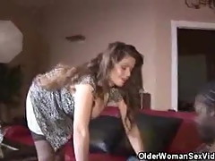 Busty June Summers Gets It On