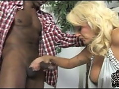 Black domination on white wife and her husband