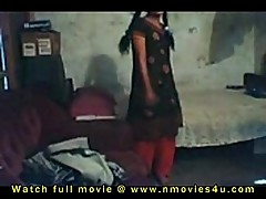 Black and red dress Girl have sex