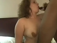 45 year old Chubby wife Michelle gets the BBC sex party she was wishing for