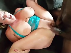 Husband films his busty wife having a real orgasm with BBC
