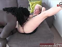German blonde housewife creampie userdate private with bbc