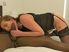 Hotwife cheating with black boy