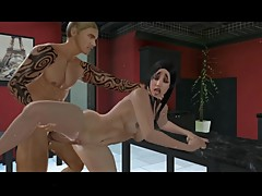 Cheating Wife Caught and Blackmailed by Neighbor to Fuck