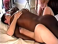 hotwife bbc bull cuckold husband film big black cock blowjob