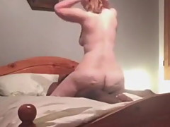 Big Bubble butt wife riding black buddy